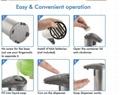 Handsfree Stainless Steel Smart Sensor Public Kitchen Household 280ml Liquid