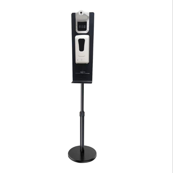 Soap dispenser can be mounted with temperature measuring instrument  7