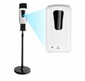 Sanitizer Dispenser  Stand Liquid Dispenser Station System