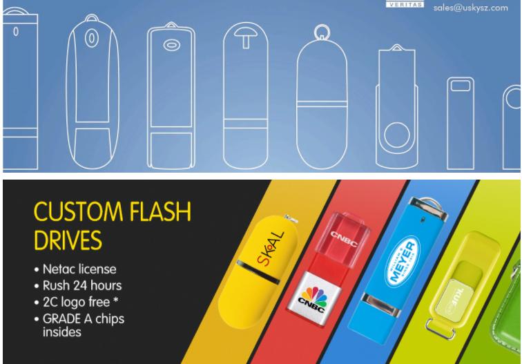 Custom Memoria USB Stick Memory Disk Pendrive USB Flash 16