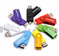 Swivel OTG USB flash drive USB stick  2.0 3.0 OTG flash drive usb for Android PC 2