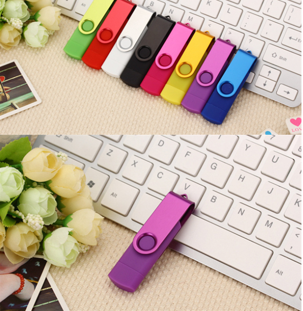 Swivel OTG USB flash drive USB stick  2.0 3.0 OTG flash drive usb for Android PC 11