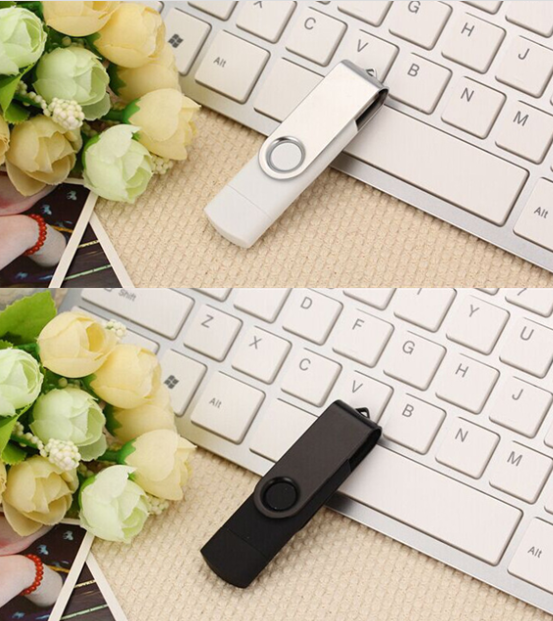 Swivel OTG USB flash drive USB stick  2.0 3.0 OTG flash drive usb for Android PC 13