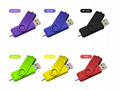Swivel OTG USB flash drive USB stick  2.0 3.0 OTG flash drive usb for Android PC 14