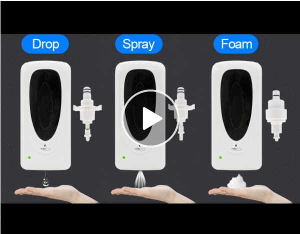 liquid foaming soap alcohol gel sprayer automatic hand sanitizer dispenser floor 4
