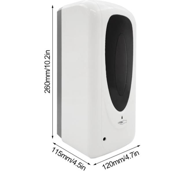 liquid foaming soap alcohol gel sprayer automatic hand sanitizer dispenser floor 9