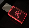 Custom Logo USB 3.0 or 2.0 Crystal Usb