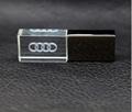 Custom Logo USB 3.0 or 2.0 Crystal Usb flash drives  16