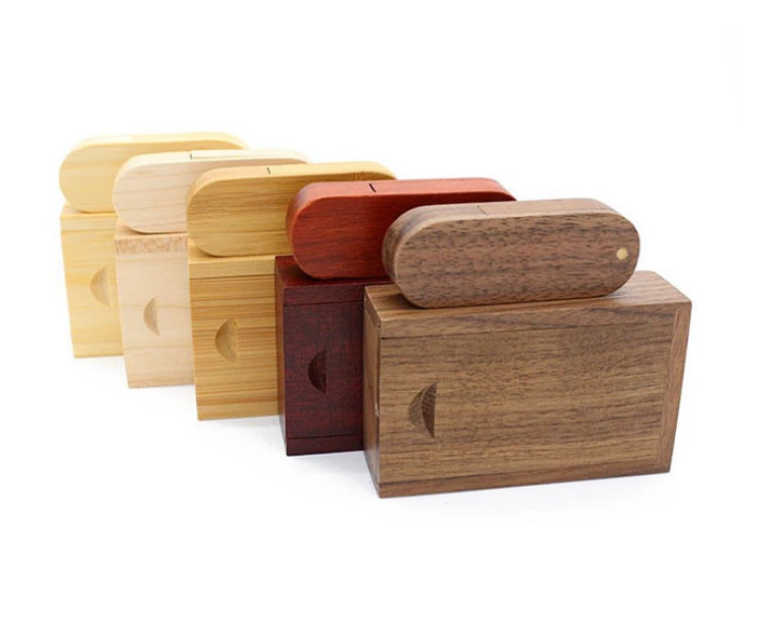 Any logo brand wood USB pen drive memory USB key 9