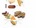 Any logo brand wood USB pen drive memory USB key