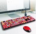 OEM Wireless Computer Keyboard mouse Aluminium Mini Wireless Keyboard and Mouse