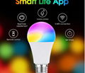 Remote Control APP Control  Wifi Light Bulb with Voice Time Group contro