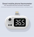 thermometer USB automatic infrared mobile phone thermometer