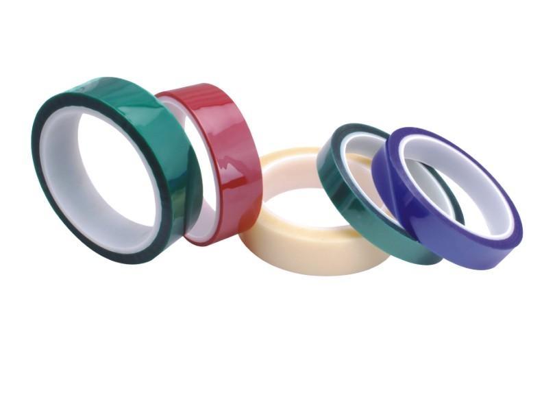 PET硅胶带喷涂保护胶带 1