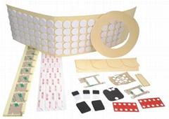 加工膜切沖型膠帶-膠墊