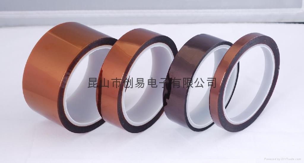 用于防焊保护,变压器线圈高温绝缘捆扎;电容器绝缘材质,PCB板金手指高温喷涂遮蔽保护,手机锂电池制造