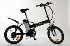 20'' Folding Electric Bicycle