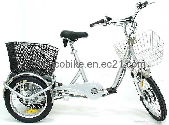 Lithium battery electric tricycle 1