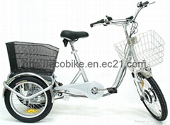 Lithium battery electric tricycle