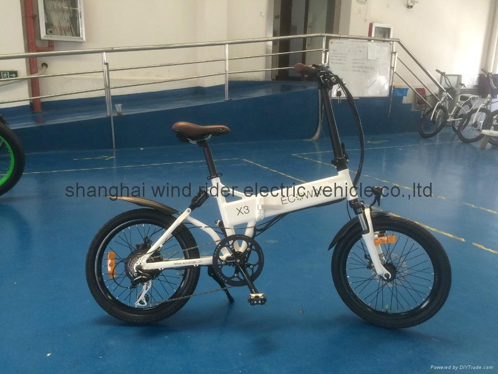 Folding Electric Bike 1