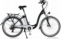 Electric Bike with lithuim batteries pack