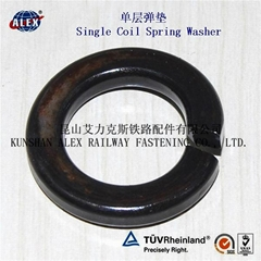 Fe6 Double coil Spring Washer