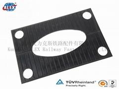 rail rubber pads