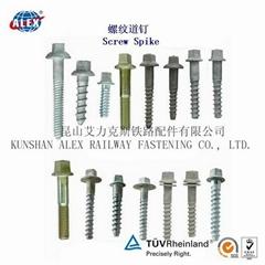 railway screw spike