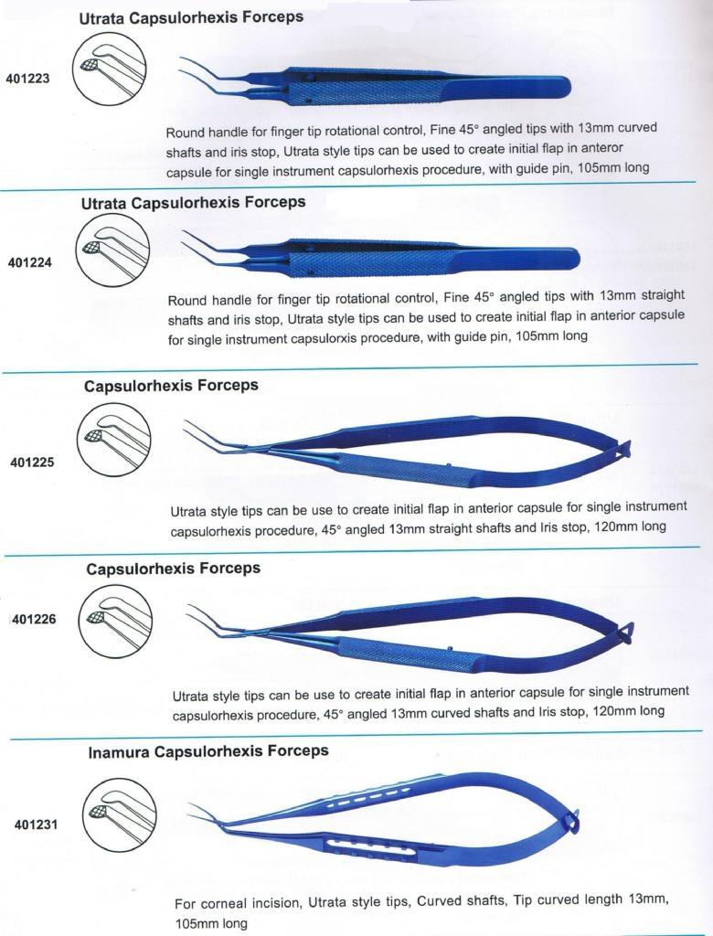 Forceps Capsulorhexis
