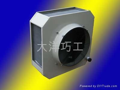 DNF-100.9大空间加热机组吊顶工业暖风机 1