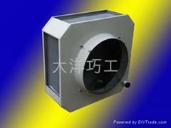 DNF-100.9大空间加热机组吊顶工业暖风机
