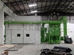 自動回收噴砂房
