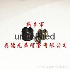 一字螺套|不鏽鋼一字螺套|碳鋼一字螺套|螺紋襯套|非標螺紋套
