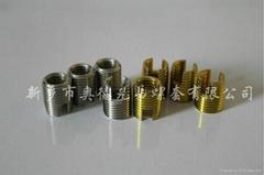 自攻螺套安裝方法及鑽孔要求
