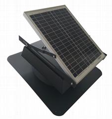 Solar Attic Exhaust Fan Ventilation Roof Mounted 1300 CFM Vent Ventilator