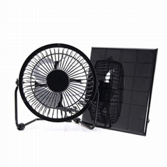 Solar Powered Fan 8inch Free Energy Power Ventilator for Greenhouse Motorhome