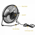 Solar Powered Fan 8inch Free Energy Power Ventilator for Greenhouse Motorhome 3