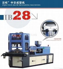 Injection blow molding machine IB28