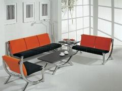 Orange Stylish Sofa