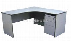 L-shape Economy Desk