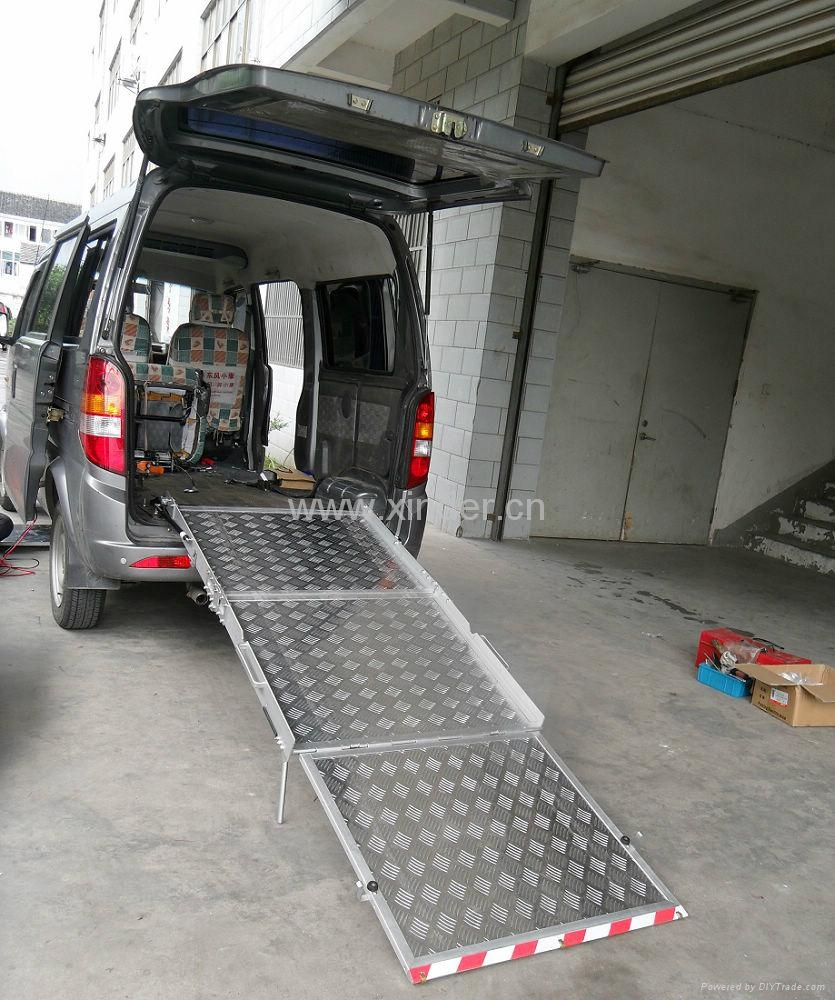 Aluminum Wheelchair Ramp For Van Bmwr Bmwr 3 Xinder China Manufacturer Car Parts
