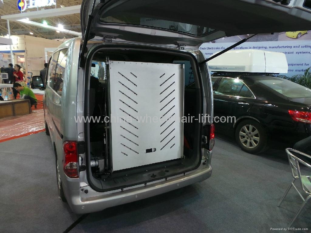 Electric Folding Wheelchair Ramp For Van 5