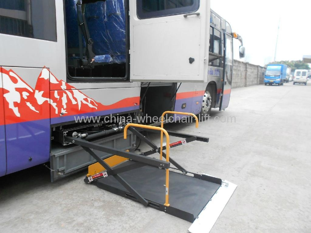 hydraulic wheelchair lift for bus wl uvl wl uvl 1300 xinder