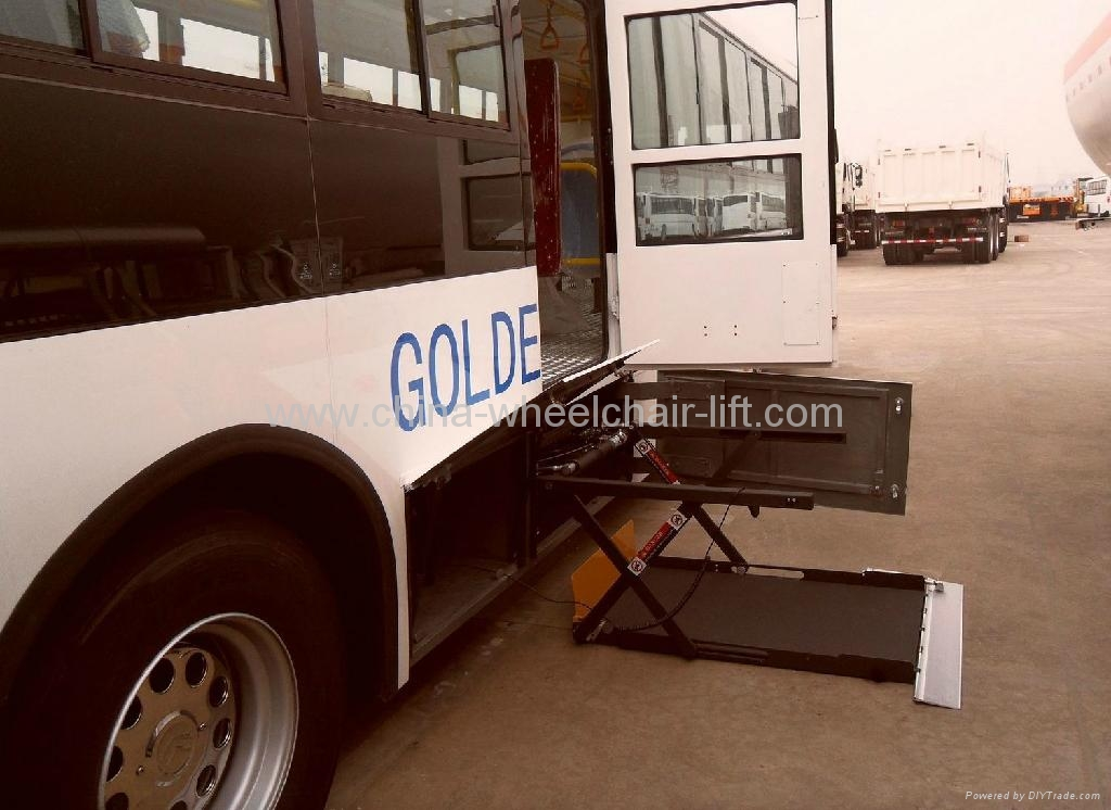 Hydraulic Wheelchair Lifts For Vehicles : Hydraulic wheelchair lift for bus wl uvl