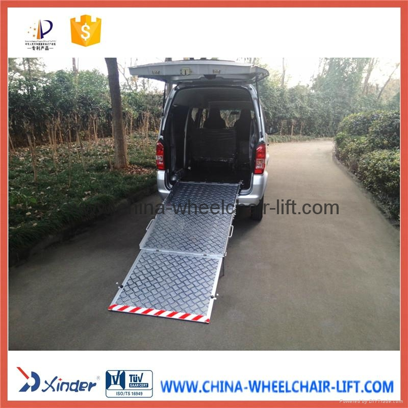 Aluminum Wheelchair Ramp For Van Bmwr Bmwr 3 Xinder