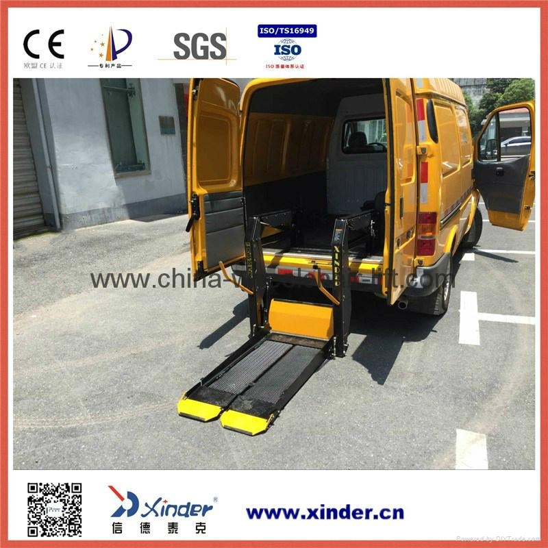 Van Wheelchair Lift Parts : Wheelchair lift for van wl d s wld xinder