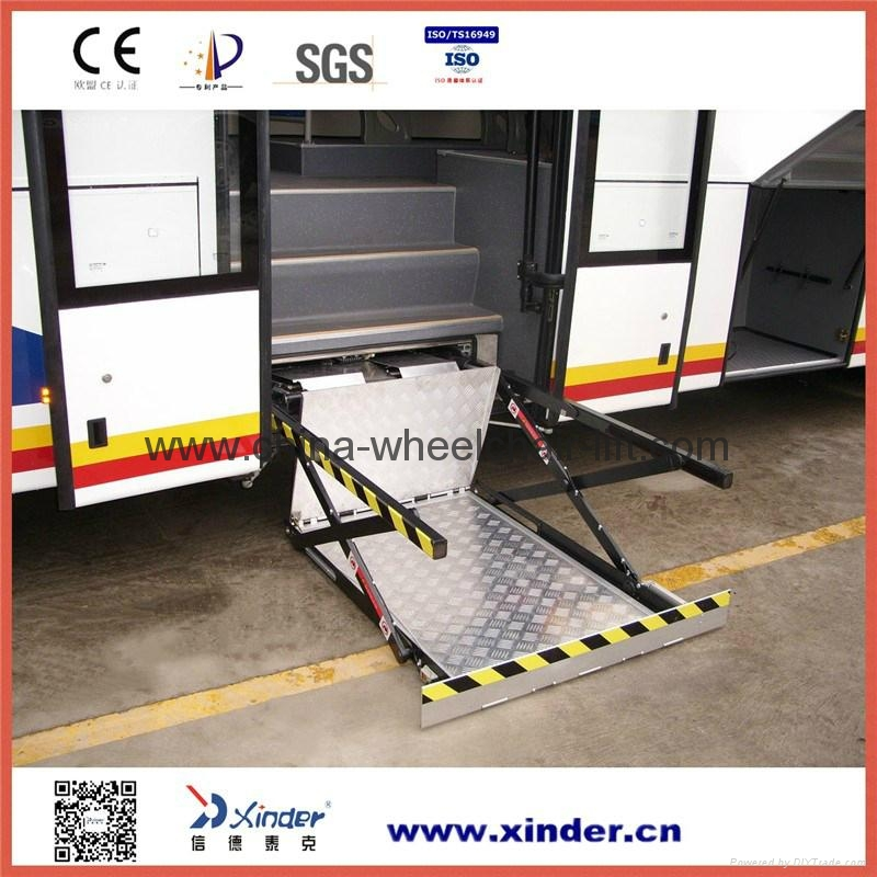 Hydraulic Wheelchair Lift : Hydraulic wheelchair lift for bus wl uvl