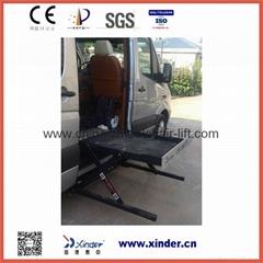 面包车专用轮椅升降机CE 承载350KG