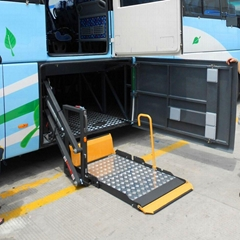 Electric Rotating Wheelchair Lifts for Bus and Coach
