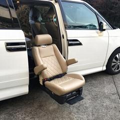 商务车改装残疾人老年人专用福祉座椅可旋转升降